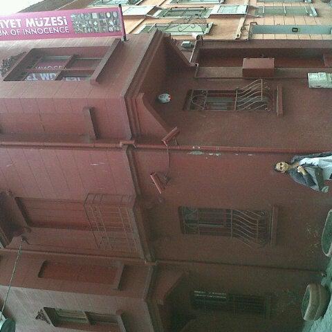 10/25/2012 tarihinde Kamer T.ziyaretçi tarafından Masumiyet Müzesi'de çekilen fotoğraf