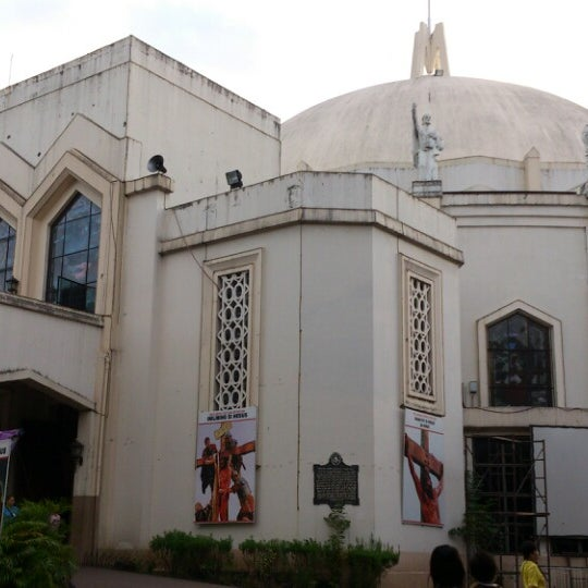 Photo taken at National Shrine of Our Lady of Peace and Good Voyage (Antipolo Cathedral) by Percival E. on 3/4/2013