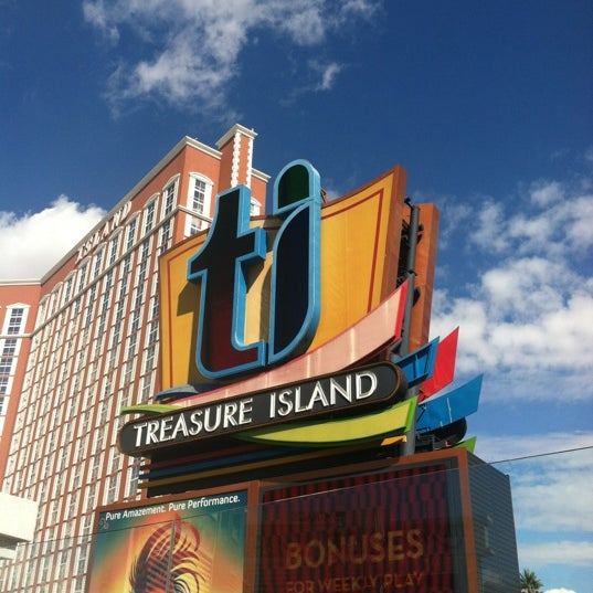 Photo taken at Treasure Island - TI Hotel & Casino by Matthew T. on 10/12/2012