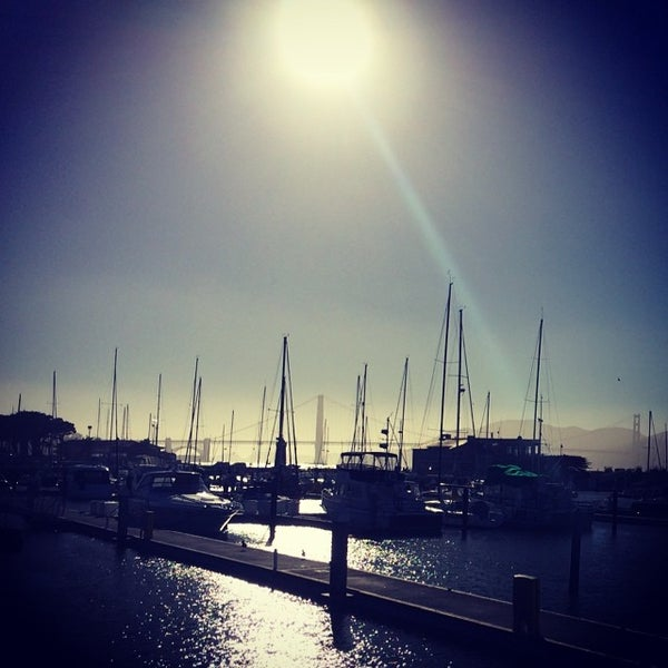 Photo taken at Golden Gate Yacht Club by Bruno W. on 6/30/2014