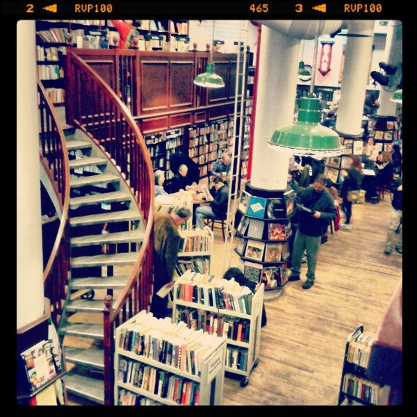 Photo taken at Housing Works Bookstore Cafe by Monica W. on 4/20/2013