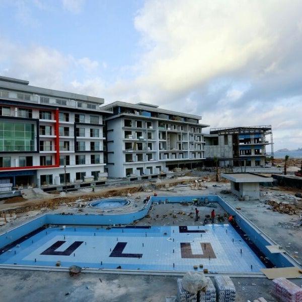 6/18/2014 tarihinde Hasan U.ziyaretçi tarafından Ulu Resort Hotel'de çekilen fotoğraf