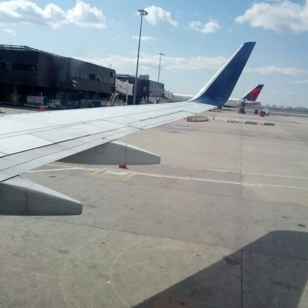 Photo taken at Terminal 3 by liliana c. on 4/2/2013