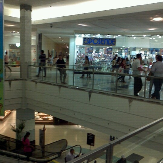 Photo taken at Shopping Recife by Carlos A. on 11/29/2012