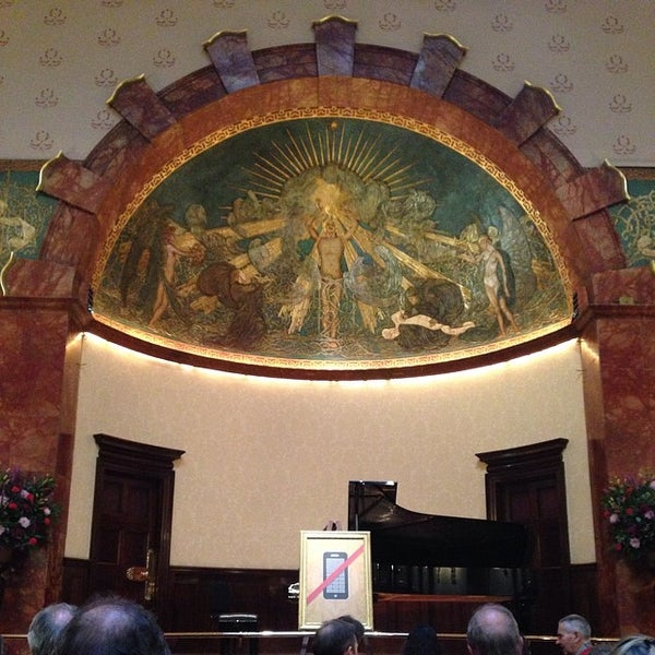 Photo taken at Wigmore Hall by Shinobu H. on 6/7/2014