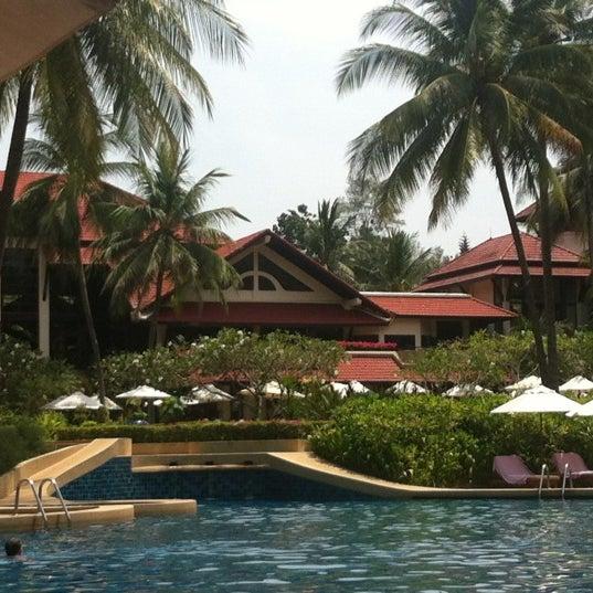 Photo taken at Dusit Thani Laguna Phuket by Adriana on 2/21/2013