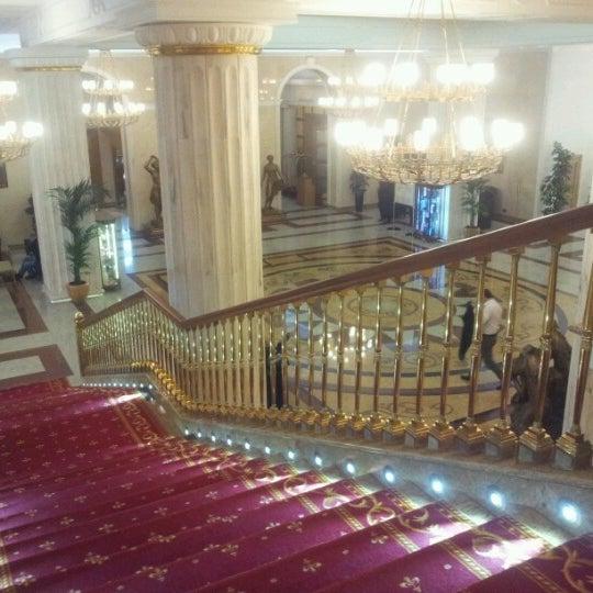 Photo taken at Radisson Royal Hotel by Irene on 4/3/2013