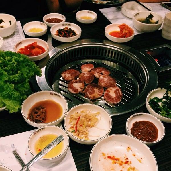 Photo taken at Daorae Korean BBQ Restaurant by Eugenia C. on 9/4/2015