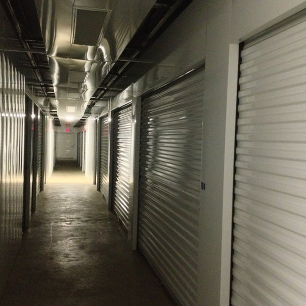 Photo Taken At Too Much Stuff Self Storage By Thomas E R. On 1/