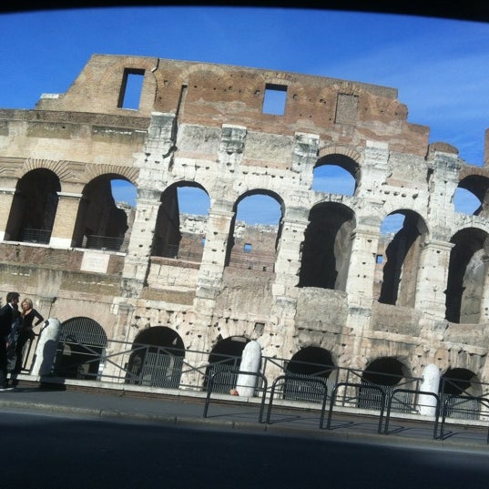 Photo taken at Piazza del Colosseo by Anna D. on 11/9/2012