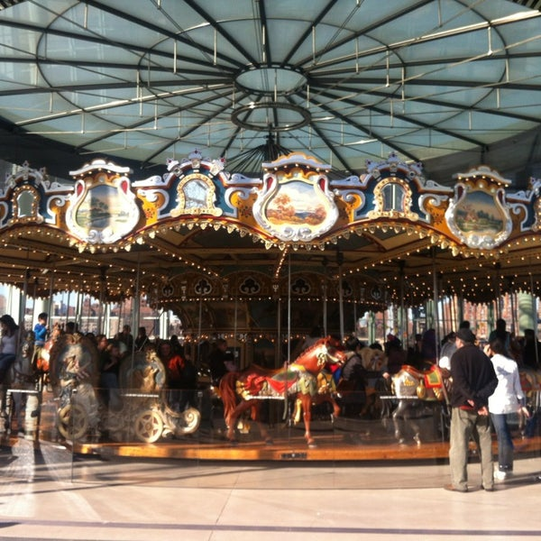 Photo taken at Jane's Carousel by Hillary S. on 3/9/2013
