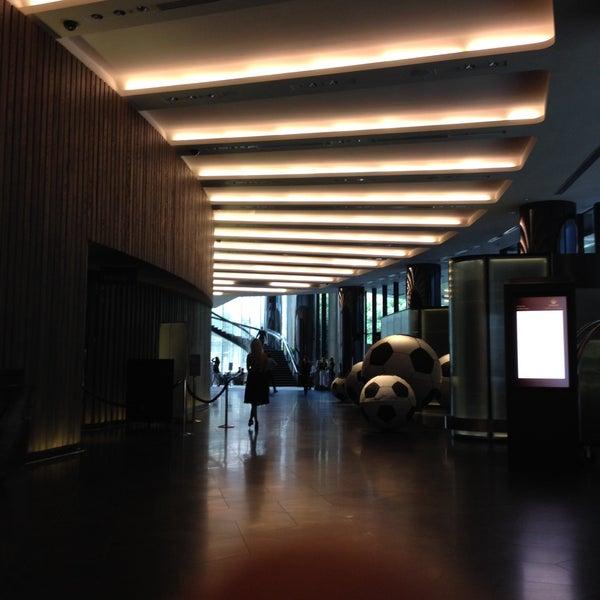 Photo taken at Crown Metropol Hotel by Ignacio K. on 1/15/2015