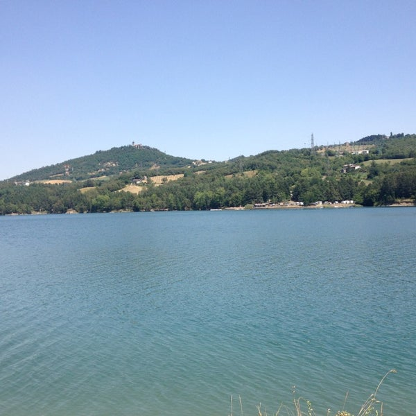 Photo taken at Lago di Suviana by Valentina B. on 8/3/2013