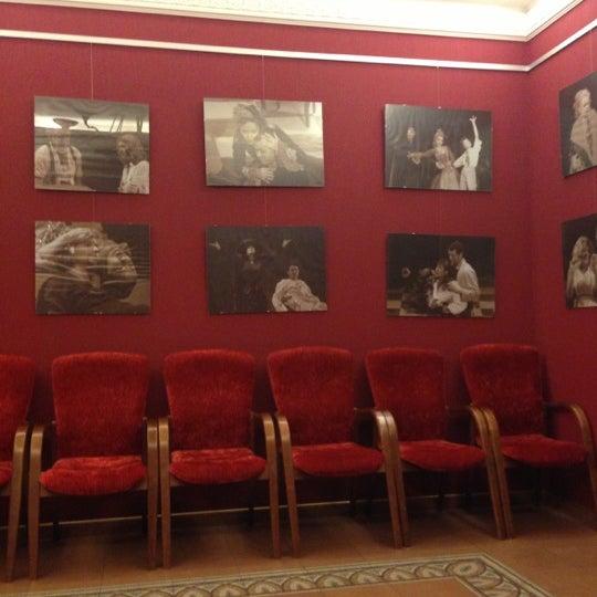 Снимок сделан в Театр-кабаре на Коломенской/ The Private Theatre and Cabaret пользователем Vitaly P. 10/20/2012