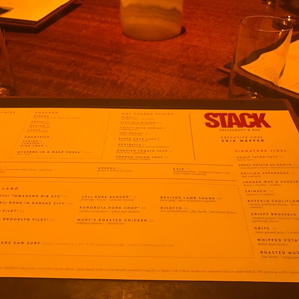 Photo taken at STACK Restaurant & Bar by Abdulla A. on 3/20/2017