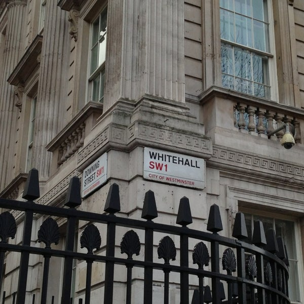 Photo taken at 10 Downing Street by R . on 1/26/2013