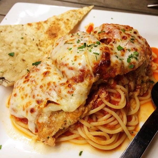 Photo taken at Tartini Pizzeria & Spaghetteria by Dafoodie on 2/24/2014