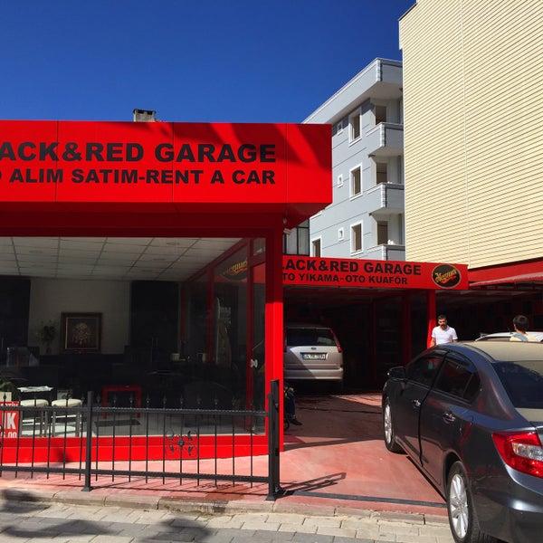 Black red garage rent a car galeri oto kuaf r k s kl 39 da for Garage auto lyon 7