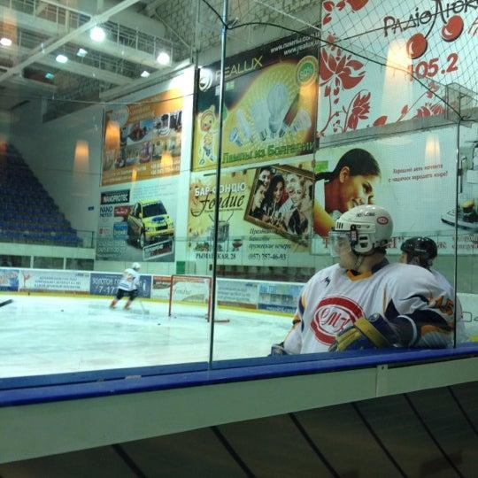 Снимок сделан в Айс Холл / Ice Hall пользователем Bstrd B. 10/30/2012