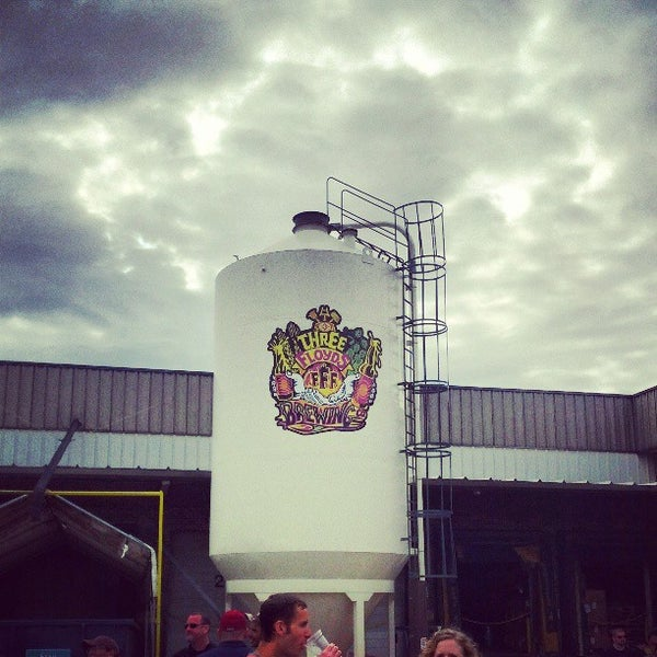 Photo taken at 3 Floyds Brewery & Pub by Brian D. on 4/27/2013