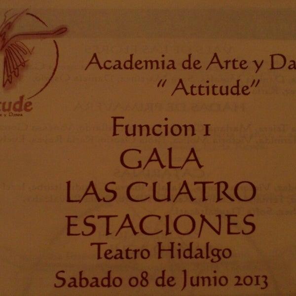 6/8/2013에 Meliza D.님이 Teatro Hidalgo에서 찍은 사진
