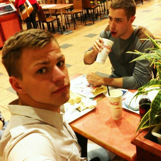 Photo taken at Hesburger by Uģis Ķ. on 5/7/2015