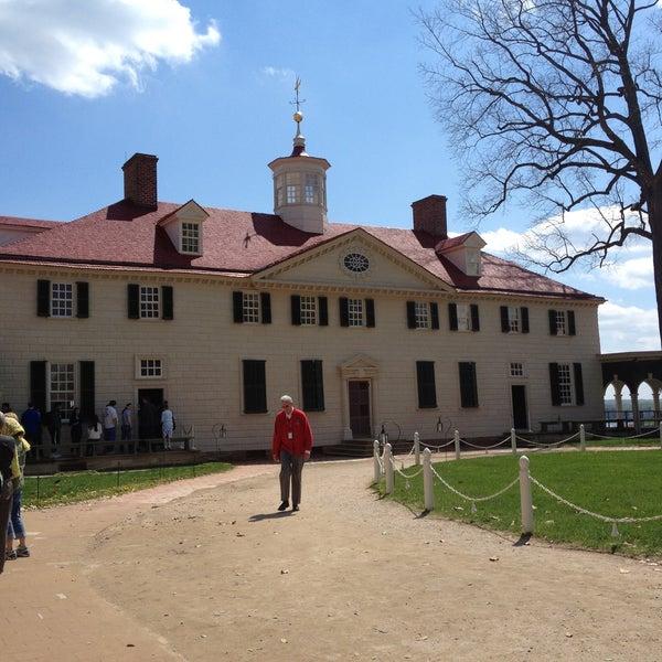 Photo taken at George Washington's Mount Vernon by Xuan V. on 4/13/2013
