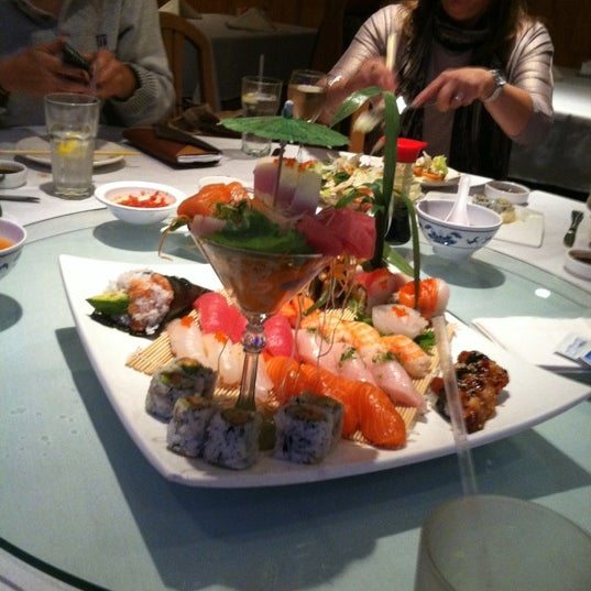 Photo taken at Jacky's Galaxie & Sushi Bar by Stephanie L. on 10/17/2012