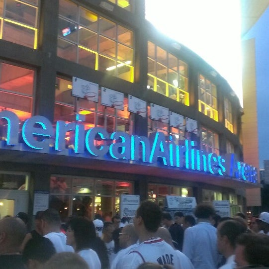 Photo taken at American Airlines Arena by Edwege J. on 5/31/2013