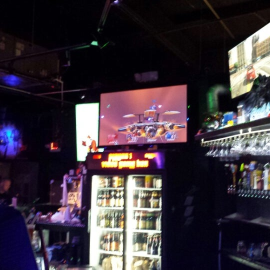 Photo taken at Player 1 Video Game Bar by Manuel D. on 9/18/2013