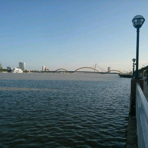 Photo taken at Han River Bridge by Jerry H. on 10/24/2016