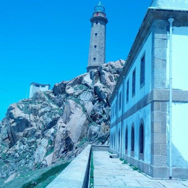 Photo taken at Faro de Cabo Vilán by Eva C. on 6/23/2013
