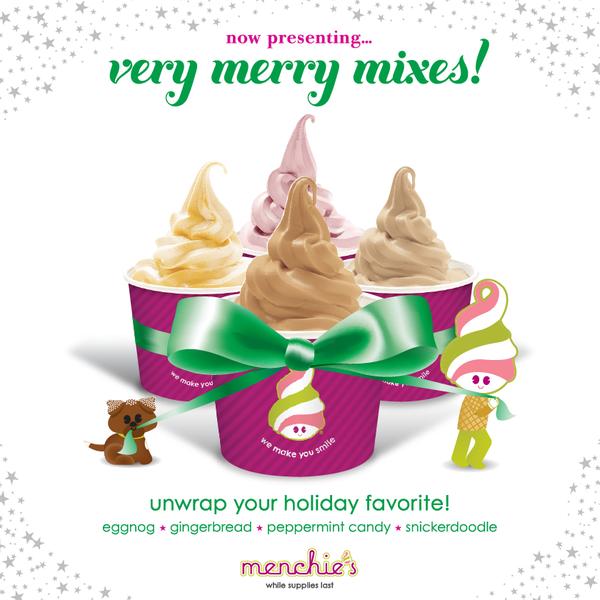 Photo taken at Menchies by Menchie's Frozen Yogurt on 11/21/2012