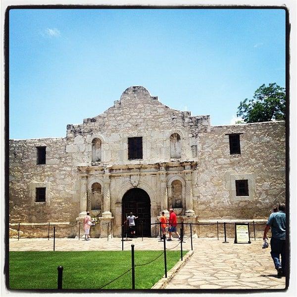 Photo taken at The Alamo by Ricardo S. on 7/14/2013