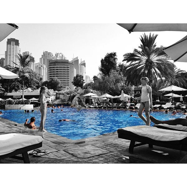 Photo taken at Habtoor Grand Resort, Autograph Collection by Omar A. on 6/28/2013