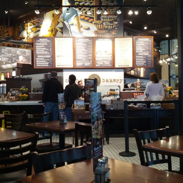 Corner Bakery Cafe Chicago Menu