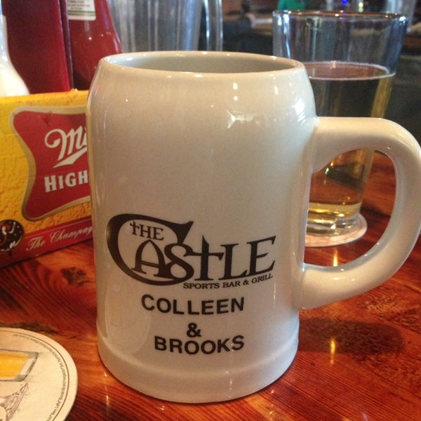 Photo taken at The Castle Bar And Grill by Colleen on 11/30/2013