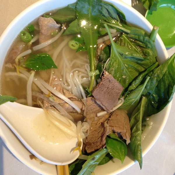 Photo taken at Ha Long Pho Noodle House by Aaron K. on 6/30/2015