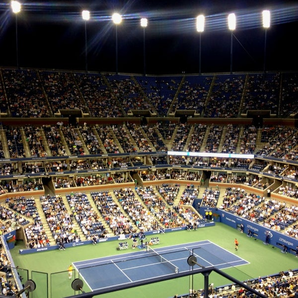 Photo taken at US Open Tennis Championships by Katerina S. on 9/4/2013