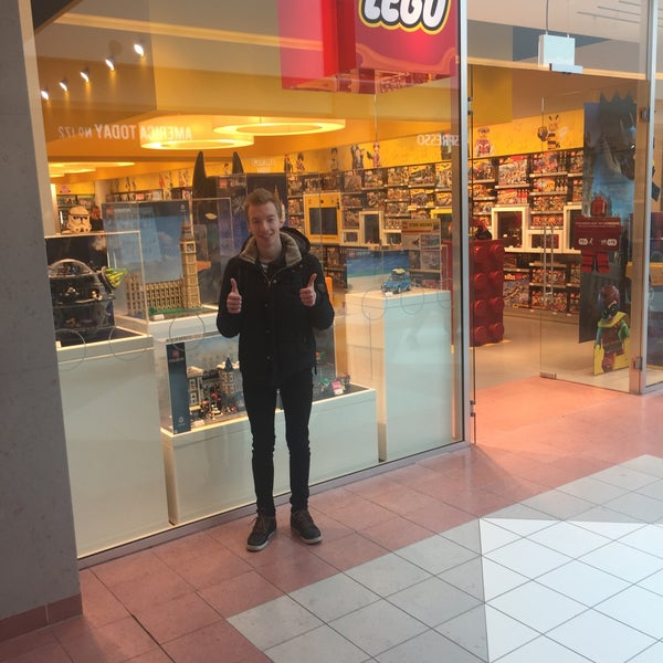 Photo taken at LEGO Store by Steven C. on 3/9/2017