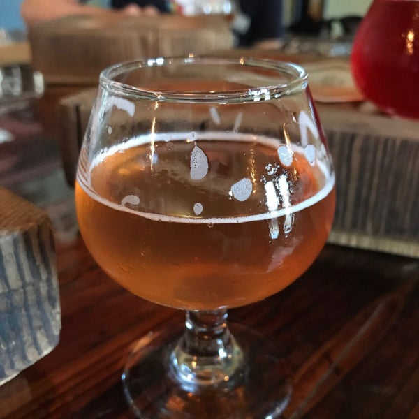 Photo taken at Haw River Farmhouse Ales by Nathan D. on 6/25/2017