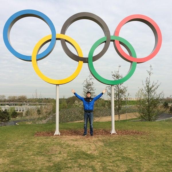 4/12/2014 tarihinde Mattia F.ziyaretçi tarafından Queen Elizabeth Olympic Park'de çekilen fotoğraf