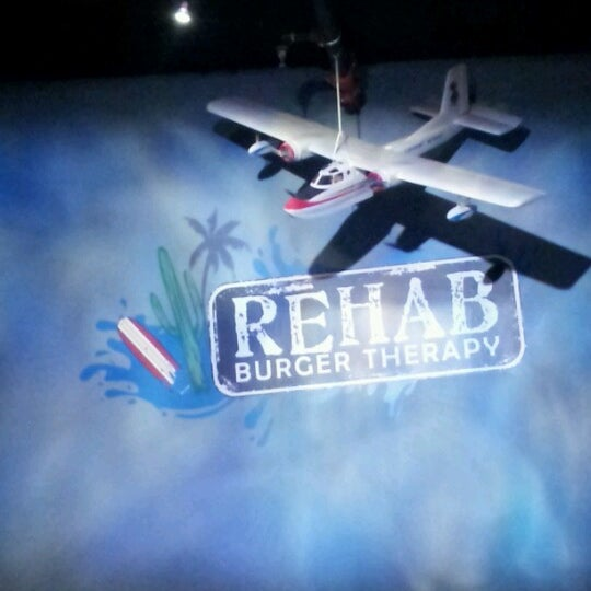 Photo taken at Rehab Burger Therapy by tami w. on 1/23/2013
