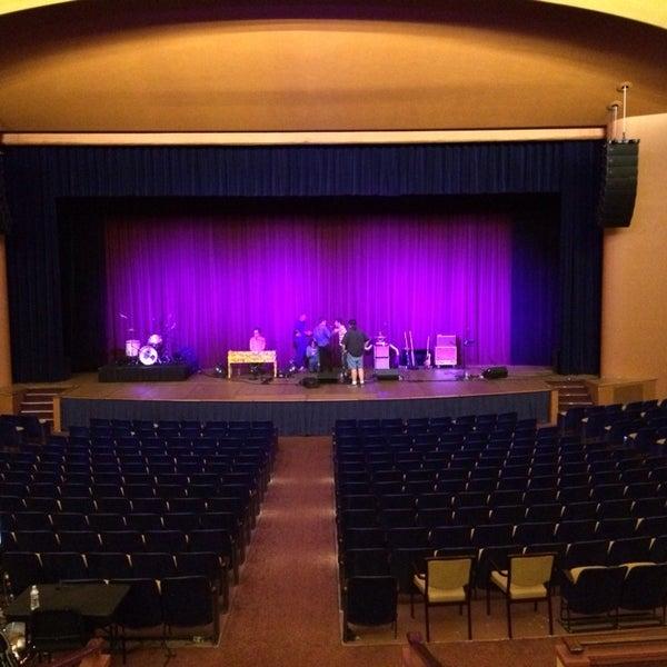 Photo taken at Lisner Auditorium by Chris A. on 10/19/2013