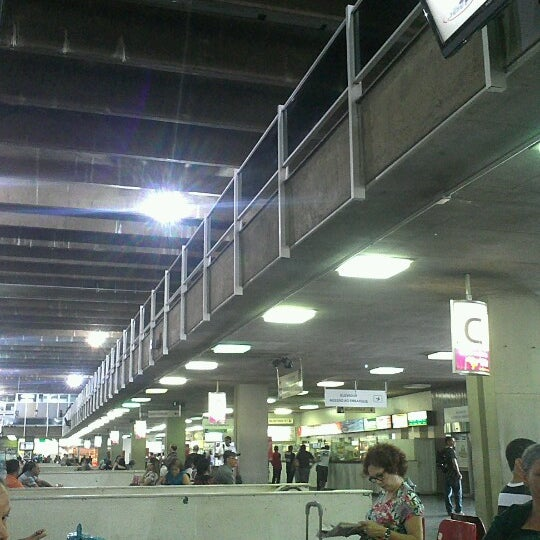 Photo taken at Terminal Rodoviário Governador Israel Pinheiro by Daniel A. on 12/2/2012