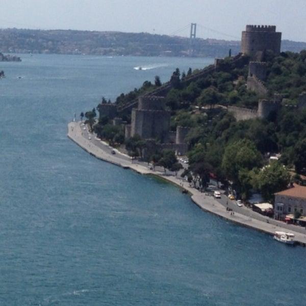 Photo taken at Fatih Sultan Mehmet Bridge by ------ 😜 on 7/11/2013
