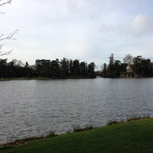 Photo taken at Lac Daumesnil by Boris on 12/30/2012