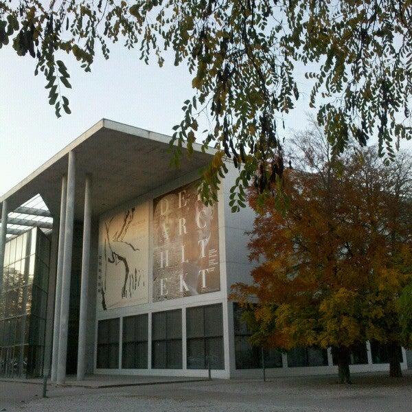 Photo taken at Pinakothek der Moderne by Laura-Lena F. on 10/25/2012