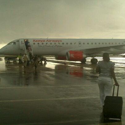 Photo taken at Jomo Kenyatta International Airport (NBO) by Maleche H. on 1/11/2013