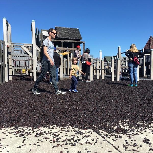 Photo taken at Annie's Playground by Sarah T. on 4/9/2017